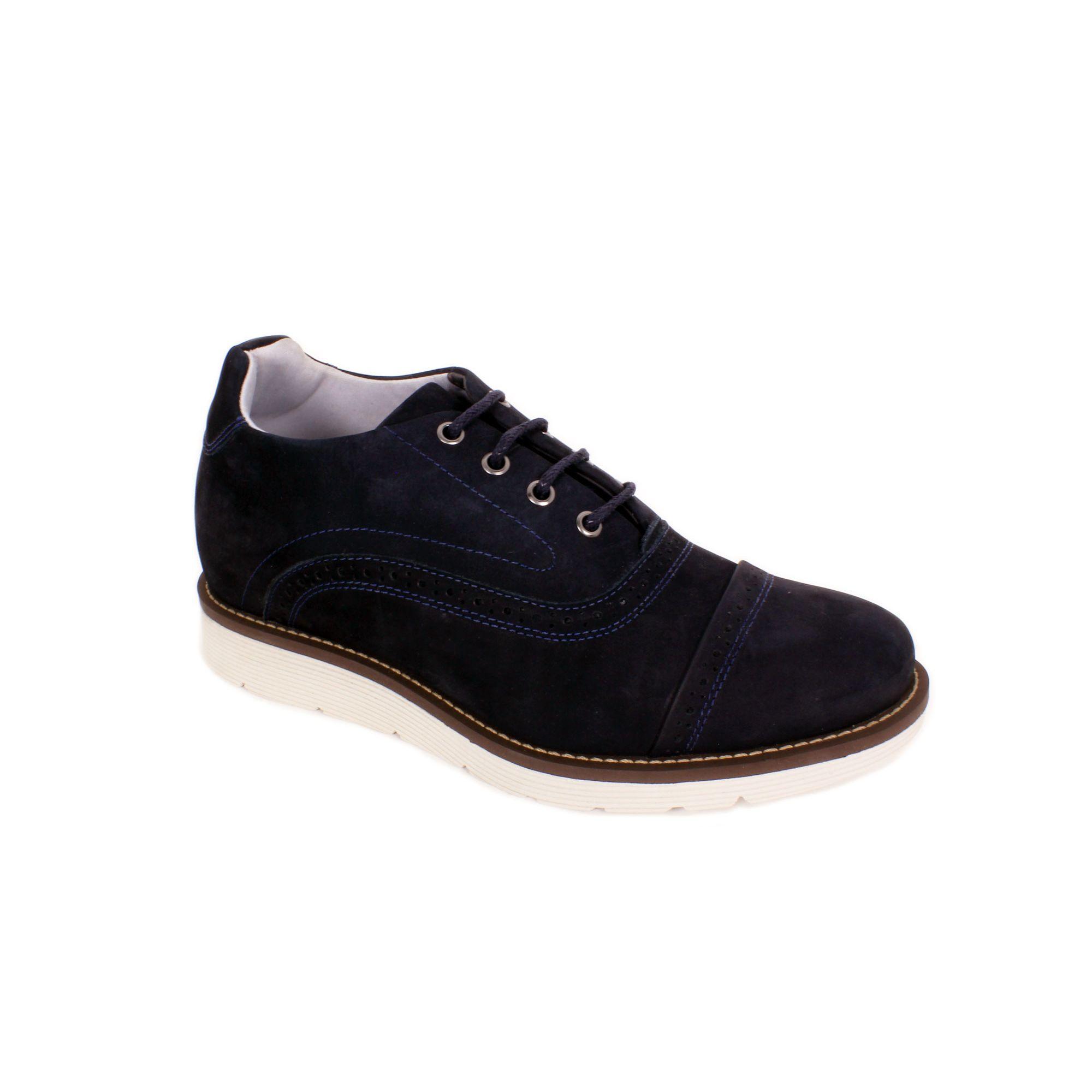 Zapato Casual Casino Azul Max Denegri +7cms de Altura_70949