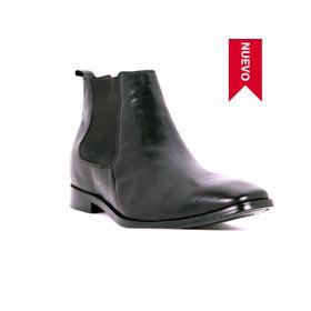 Botín Lord Negro Max Denegri + 7cms de Altura_73434