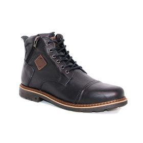 Botín Highlander Negro Max Denegri +7cms de Altura._72907