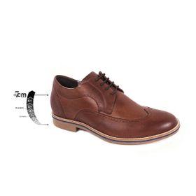 Zapato Casual Oxford Café Oscuro Max Denegri +7cm de Altura