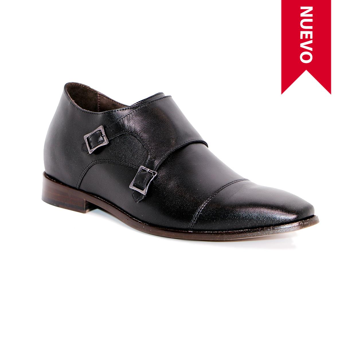 Zapato Formal Lawyers Negro Max Denegri +7cms de Altura_72739