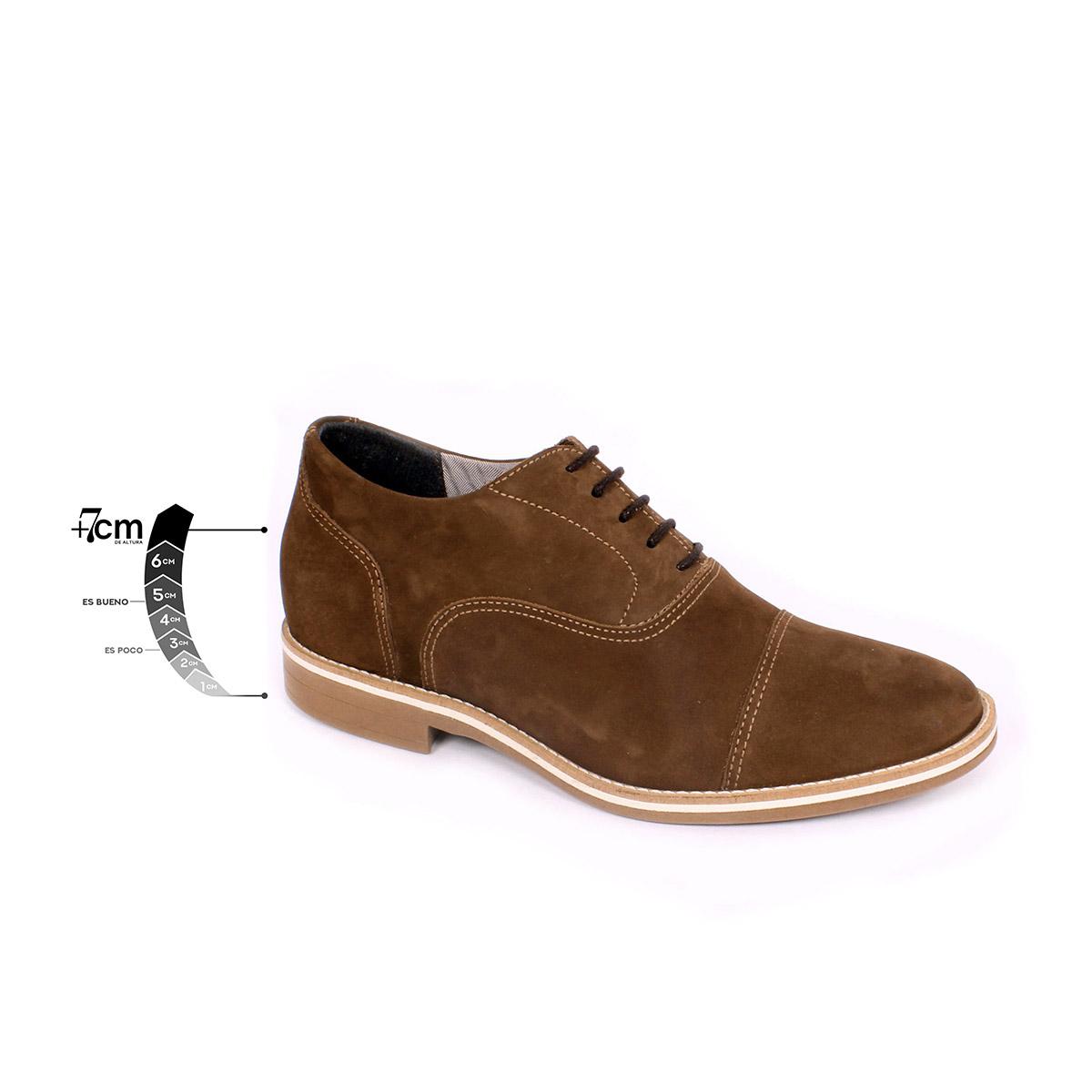 Zapato Casual Hippie Café Max Denegri +7cms de Altura_75441