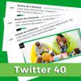 Paquete de contenidos para Twitter 40