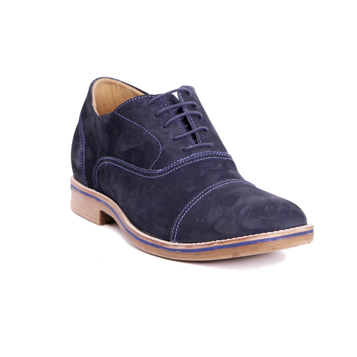 Zapato Casual Hippie Azul Max Denegri +7cms de Altura_72692