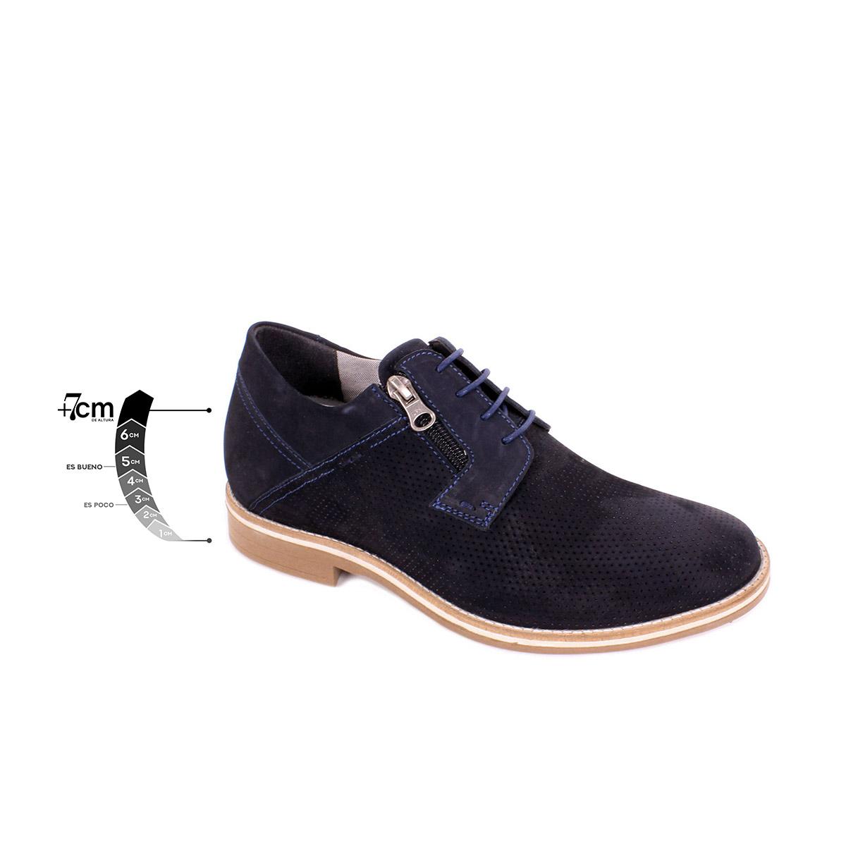Zapato Casual Break Azul Max Denegri +7cms de Altura_75287