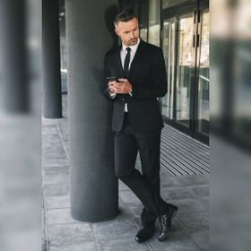 Zapato Formal British Negro Max Denegri +7cms de Altura_78269