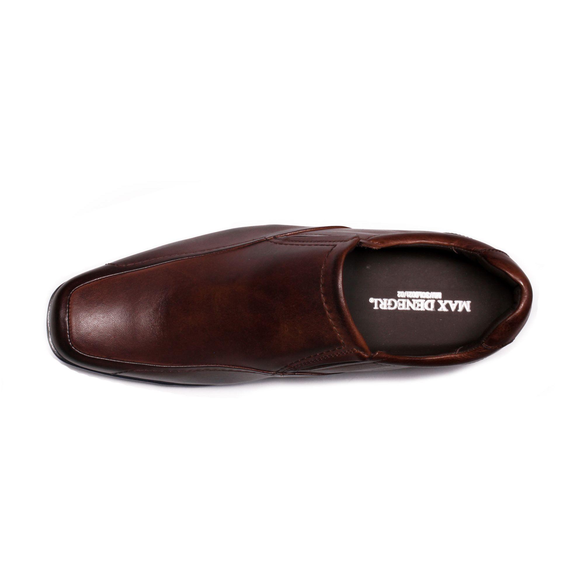 Zapato Formal Tabaco Café Max Denegri +7cm de Altura_70848
