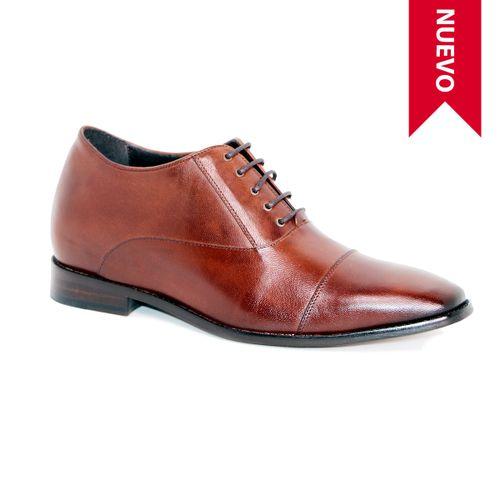Zapato Formal Director Café Max Denegri +7cms de Altura