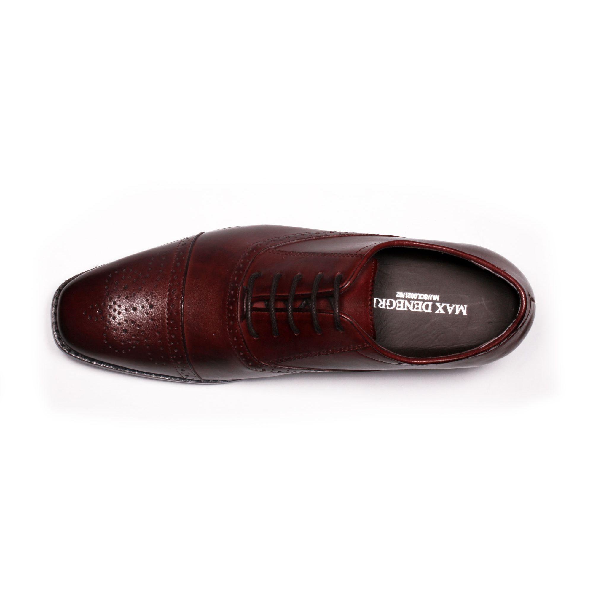 Zapato Formal British Vino Max Denegri +7cms de Altura_70790
