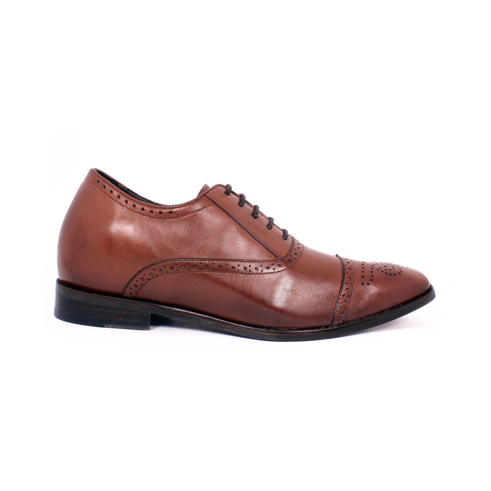 Zapato Formal British Café Max Denegri +7cms de Altura_70784