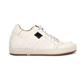 Tenis Derby Blanco Max Denegri +7cms de Altura_73395