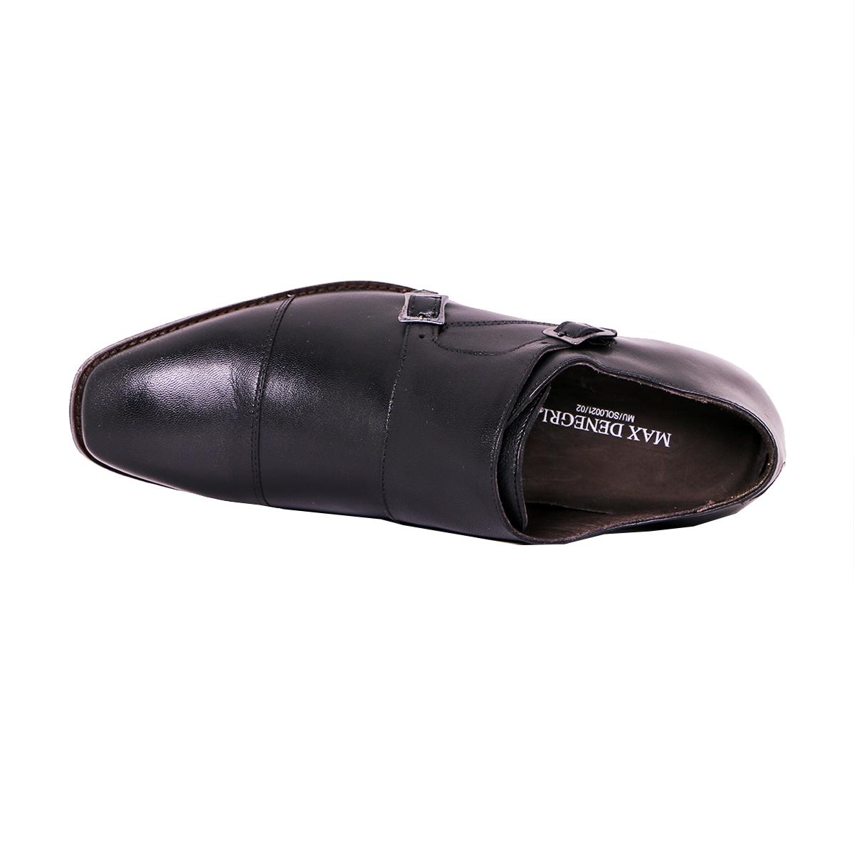 Zapato Formal Lawyers Negro Max Denegri +7cms De Altura_72814