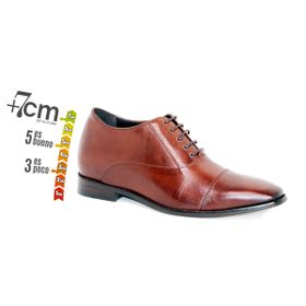 Zapato Formal Director Café Max Denegri +7cms de Altura_74147