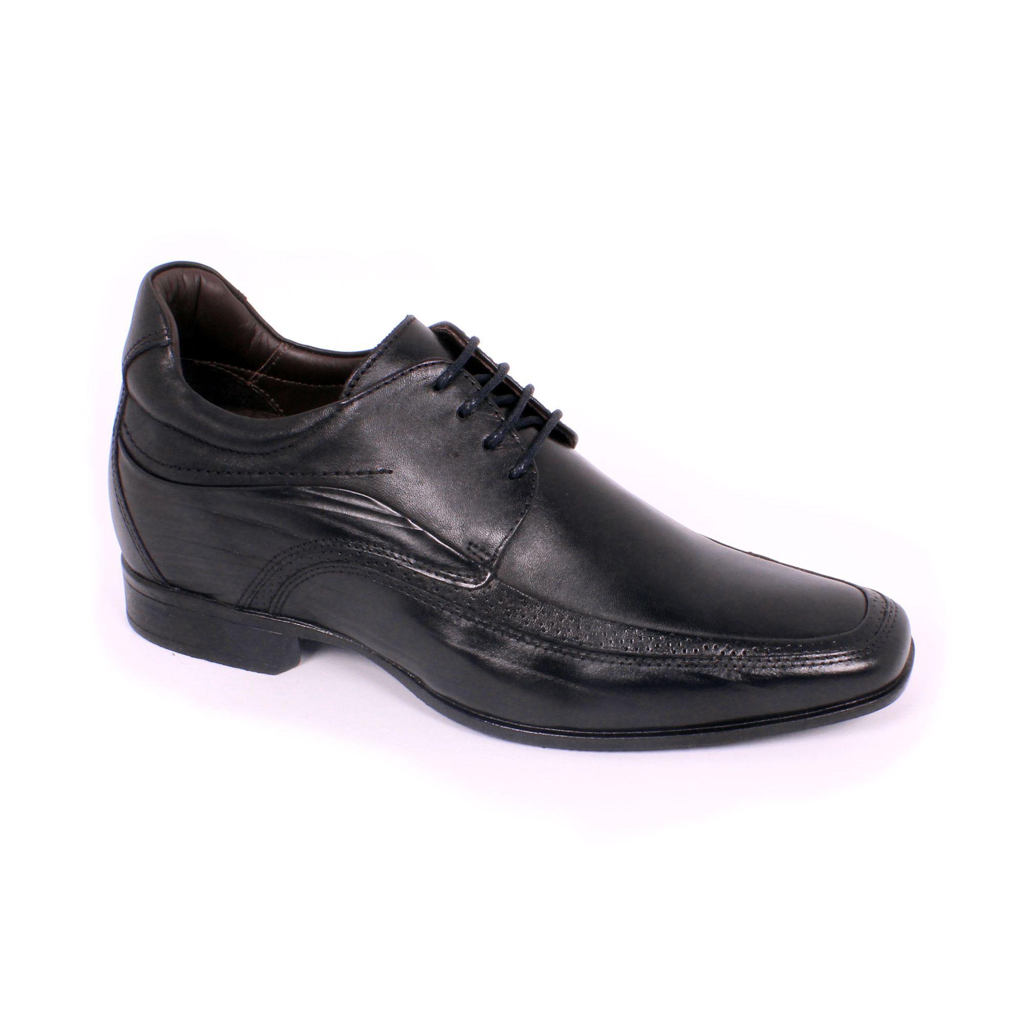 Zapato Formal Manager Negro Max Denegri +7cm de Altura_70826