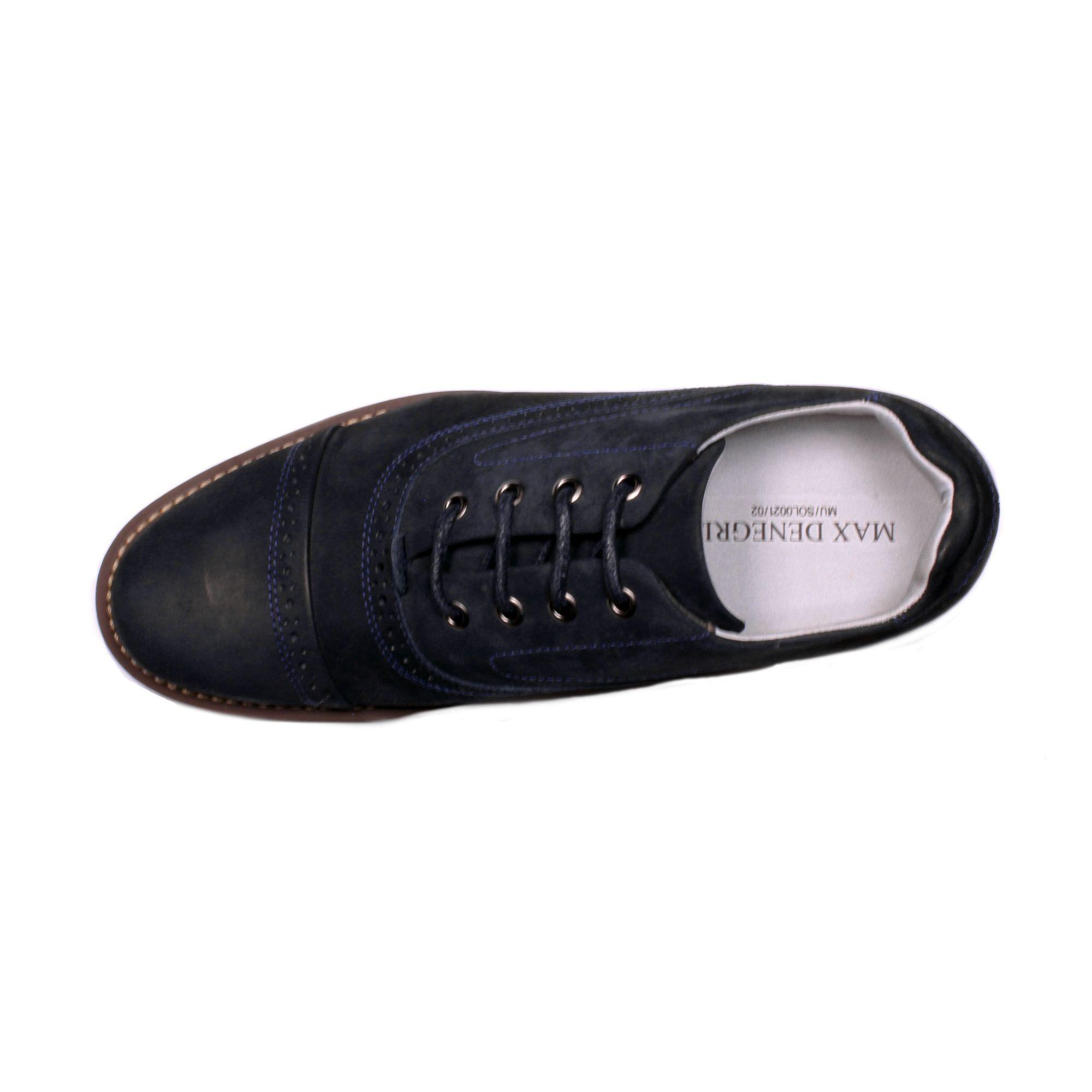 Zapato Casual Casino Azul Max Denegri +7cms de Altura_70948