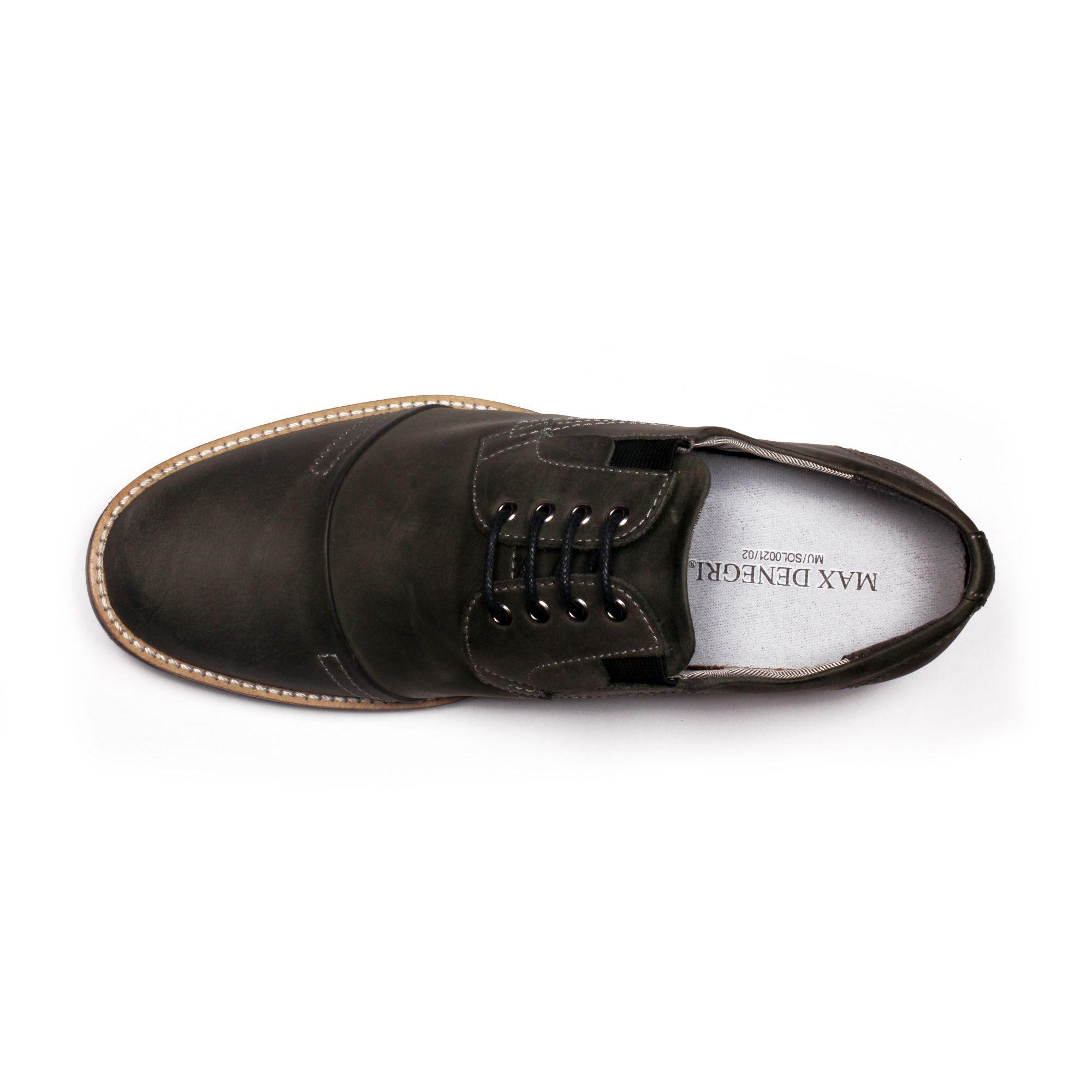 Zapato Casual Trend Gris Petroleo Max Denegri +7cms de Altura_70924