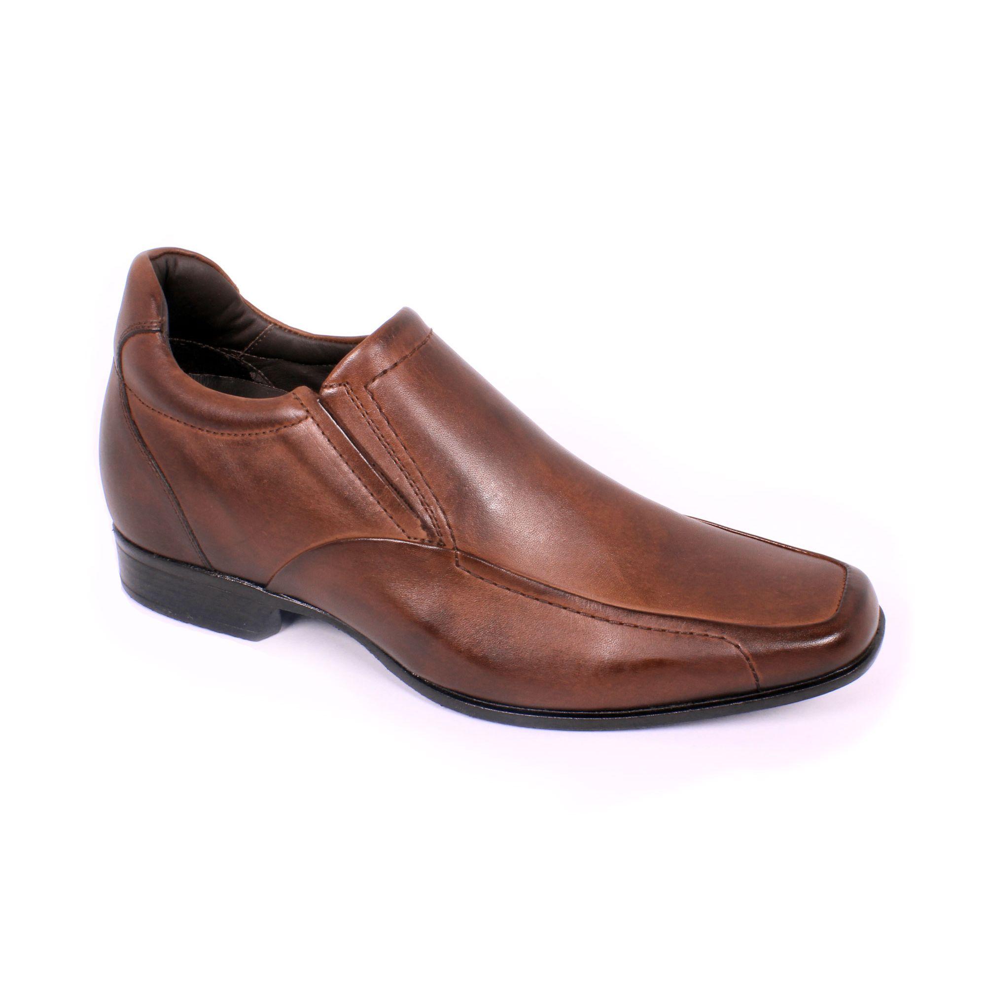 Zapato Formal Tabaco Café Max Denegri +7cm de Altura_70845