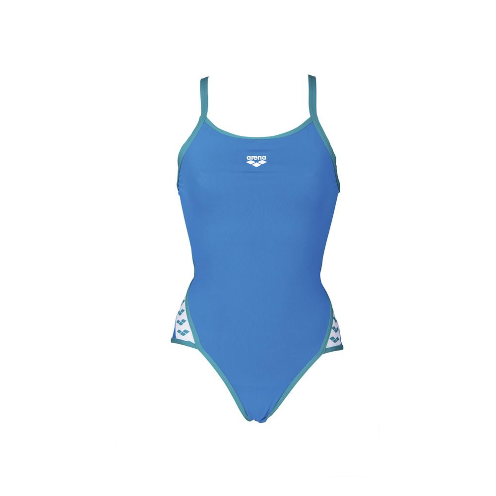 fd2e97252fd9 Arena Swim México - Traje de baño para mujer arena Team Stripe