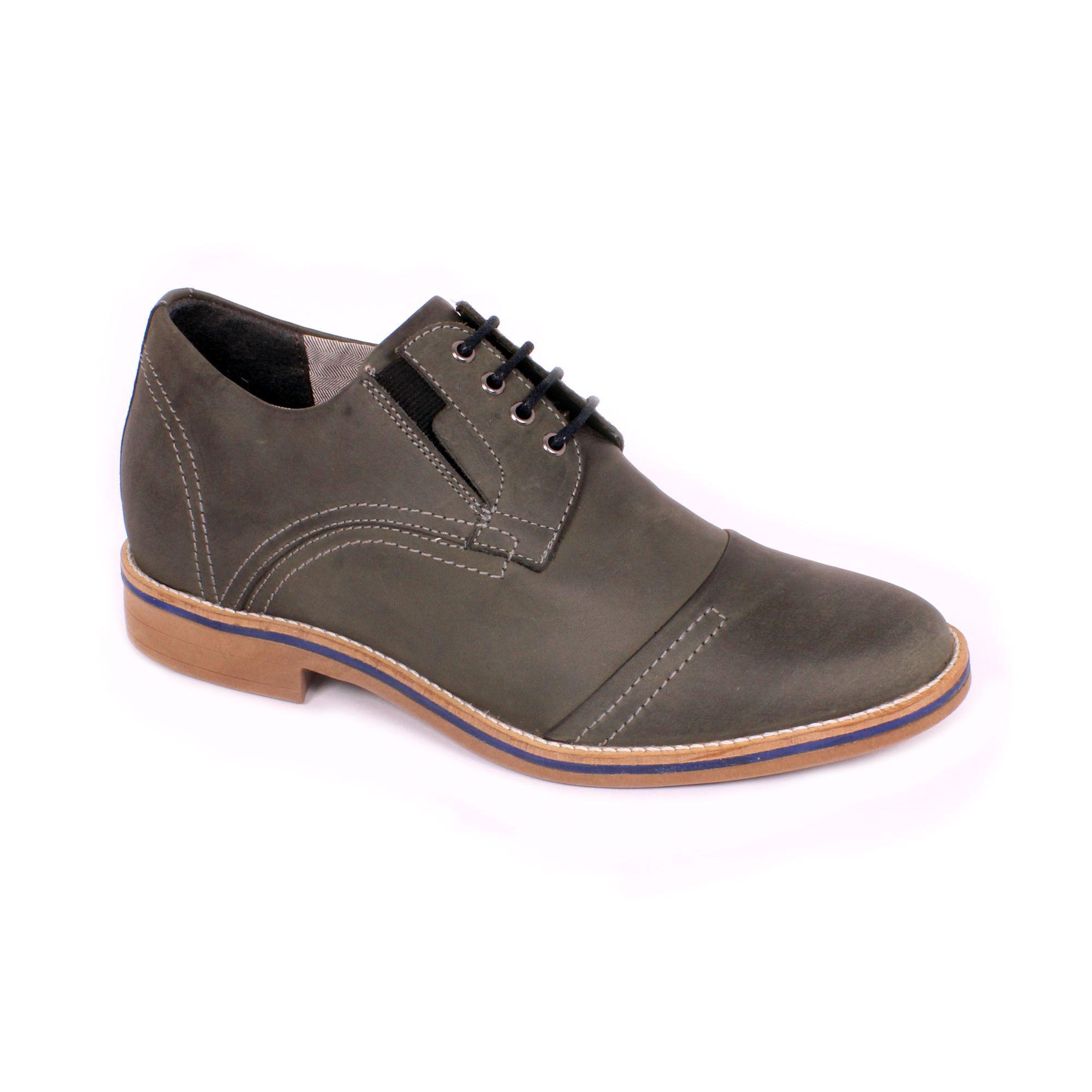 Zapato Casual Trend Gris Petroleo Max Denegri +7cm de Altura_70921