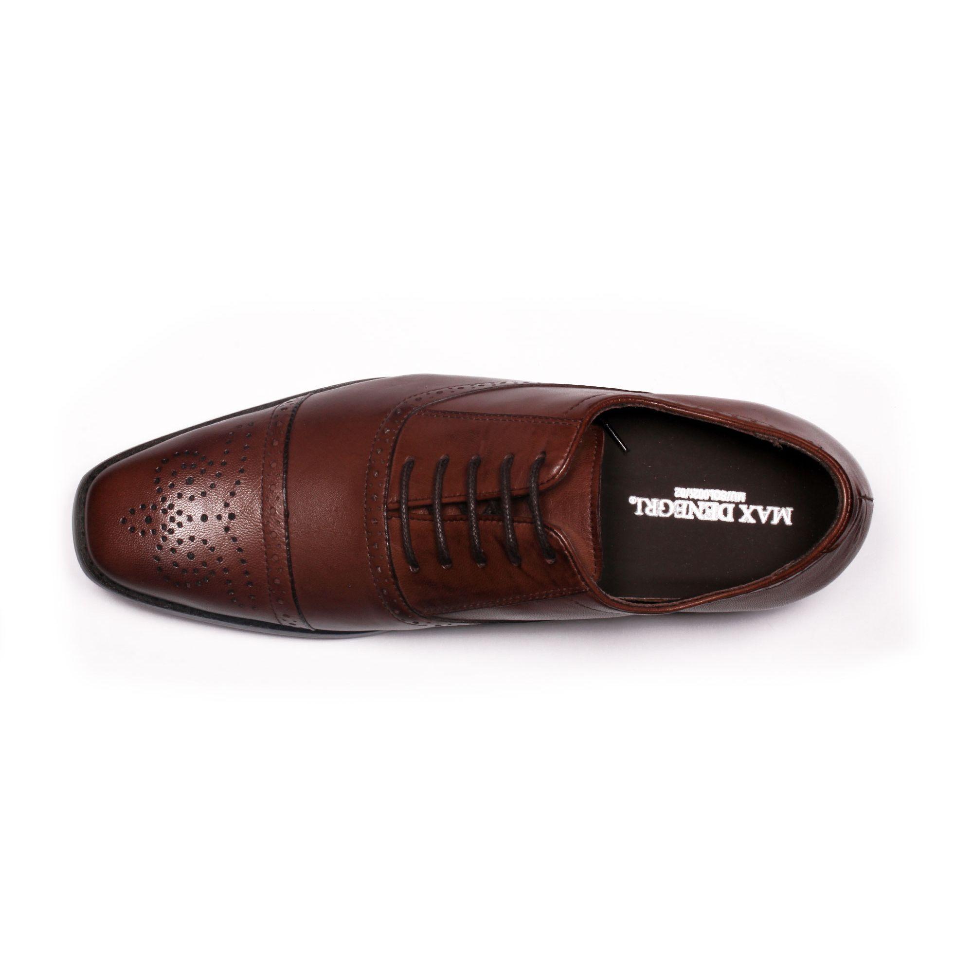 Zapato Formal British Café Max Denegri +7cms de Altura_70786