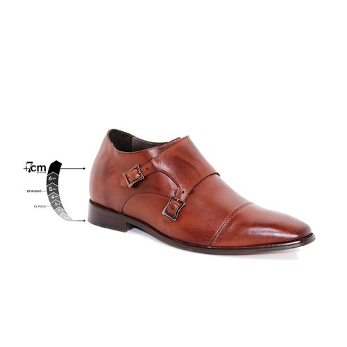 Zapato Formal Lawyers Café Oscuro Max Denegri +7cms de Altura