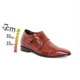 Zapato Formal Lawyers Café Oscuro Max Denegri +7cm de Altura_74155