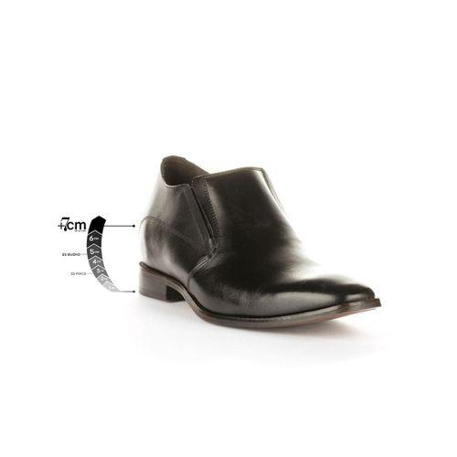 Zapato Formal Style Negro Max Denegri + 7cms de Altura
