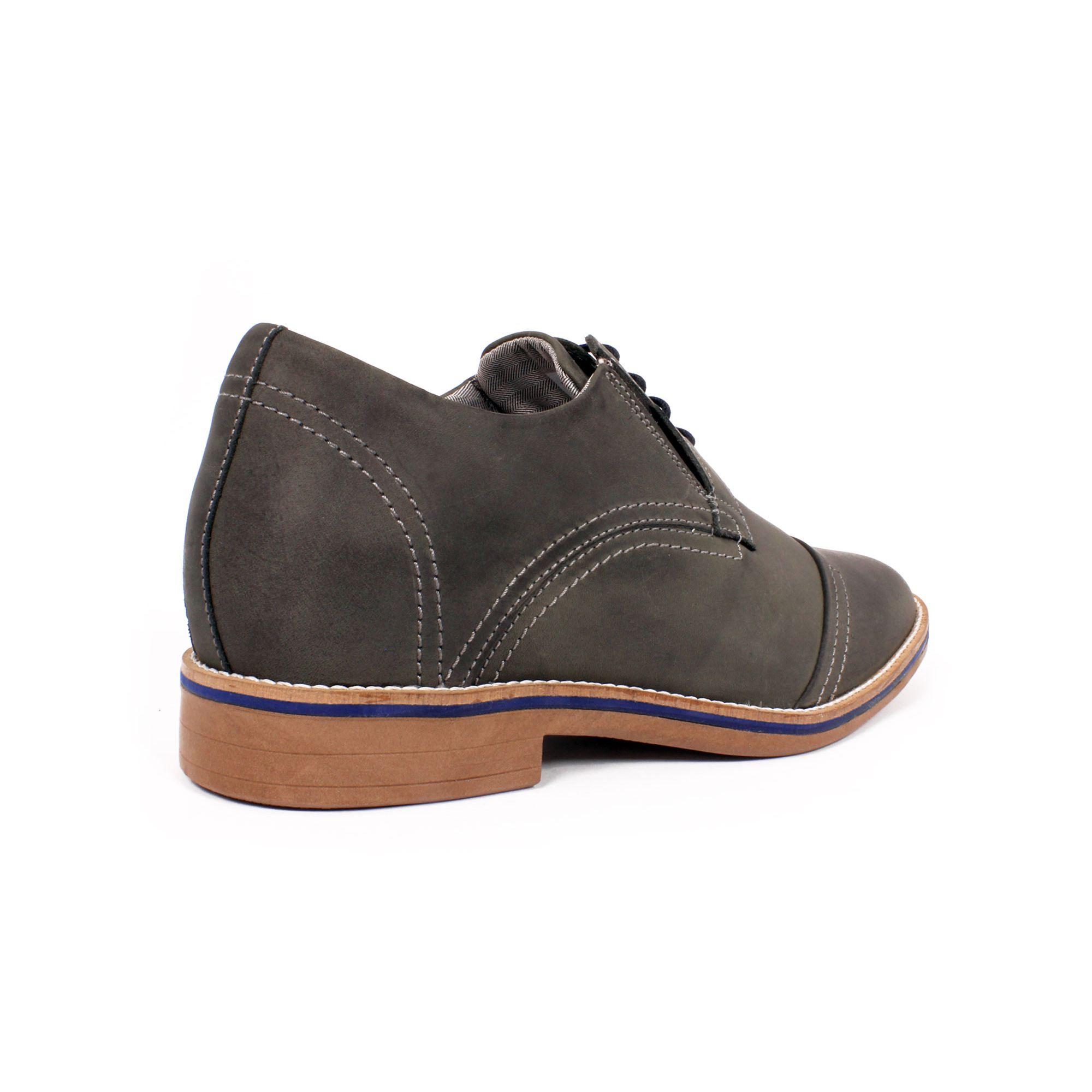 Zapato Casual Trend Gris Petroleo Max Denegri +7cms de Altura_70923
