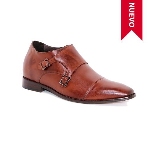 Zapato Formal Lawyers Café Oscuro Max Denegri +7cm de Altura