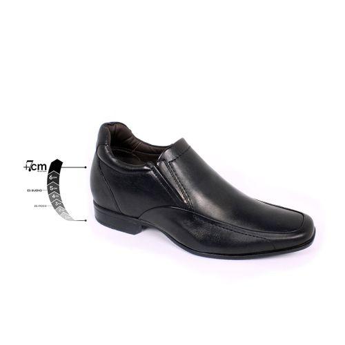 Zapato Formal Tabaco Negro Max Denegri +7cms de Altura