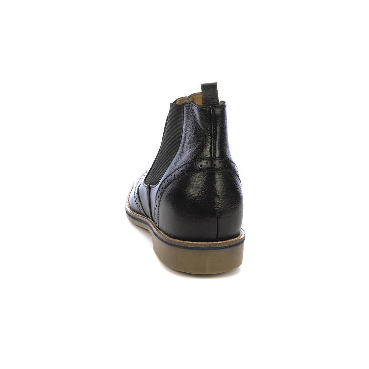 Botín Casual Empire Negro Max Denegri + 7 cms de Altura_76439