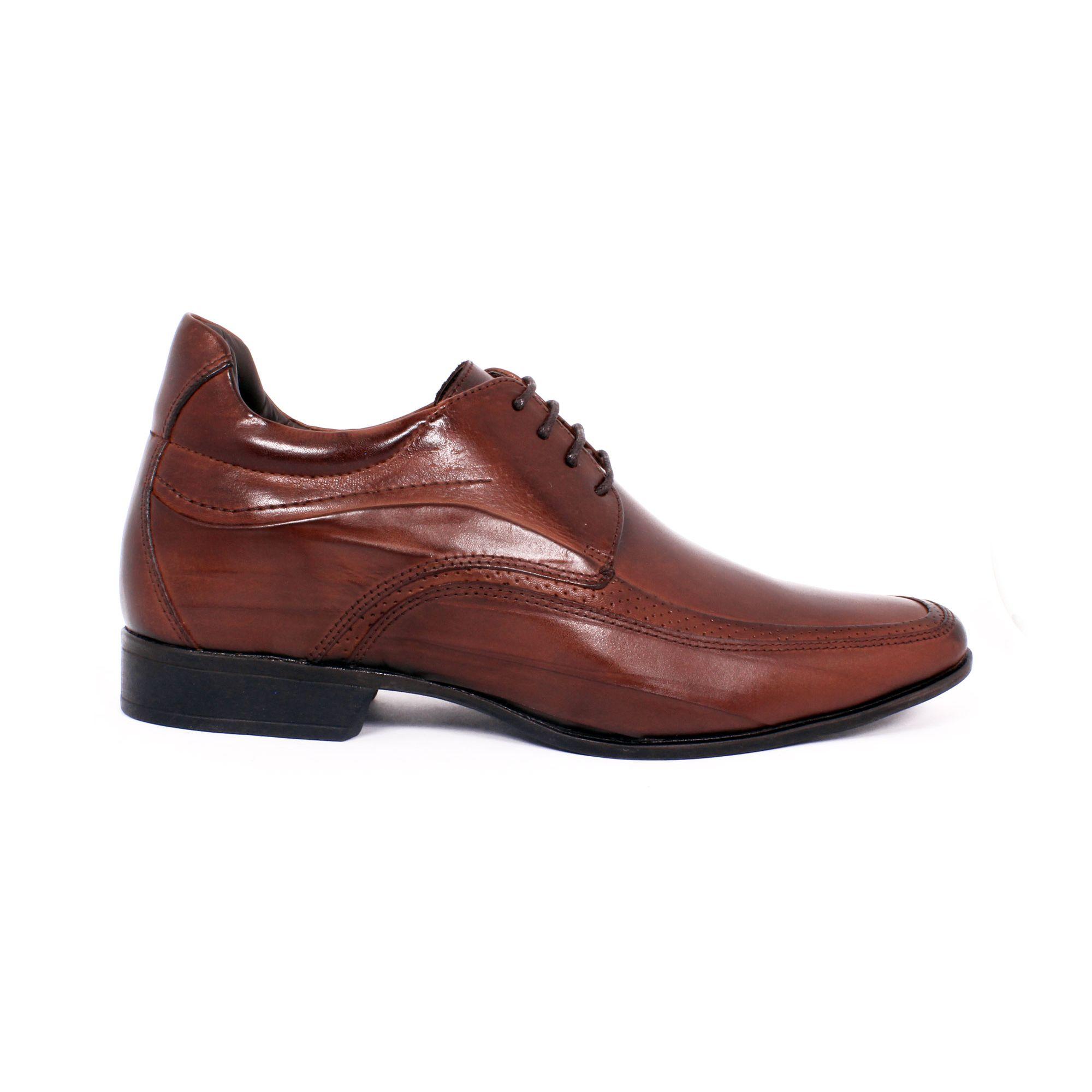 Zapato Formal Manager Café Max Denegri +7cms de Altura_70840