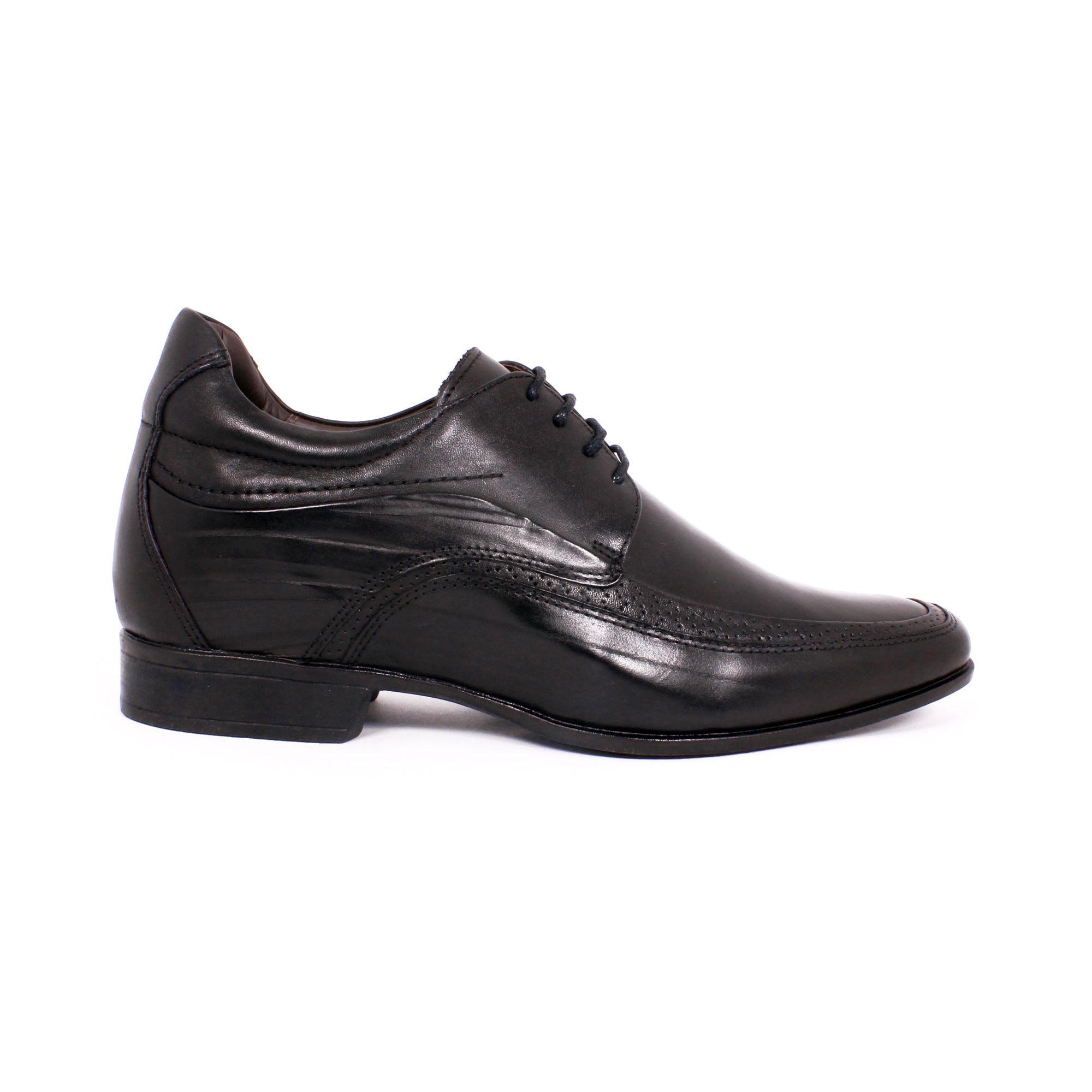 Zapato Formal Manager Negro Max Denegri +7cm de Altura_70828