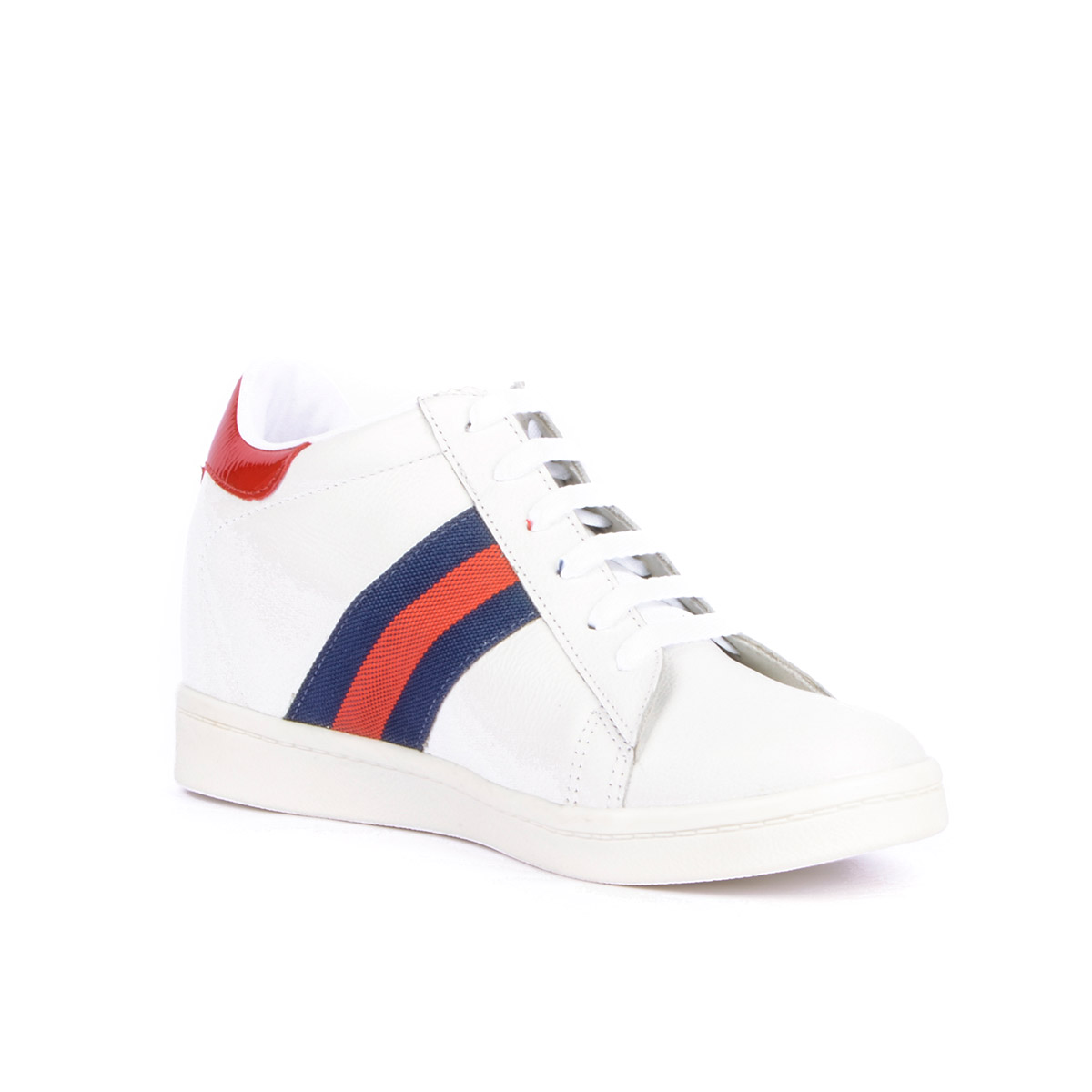 Tenis Casual Wild Blanco Max Denegri +7cms de Altura_75939