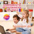 Campamento de Primavera En Línea para Niños de Kinder (Sesión por Día)