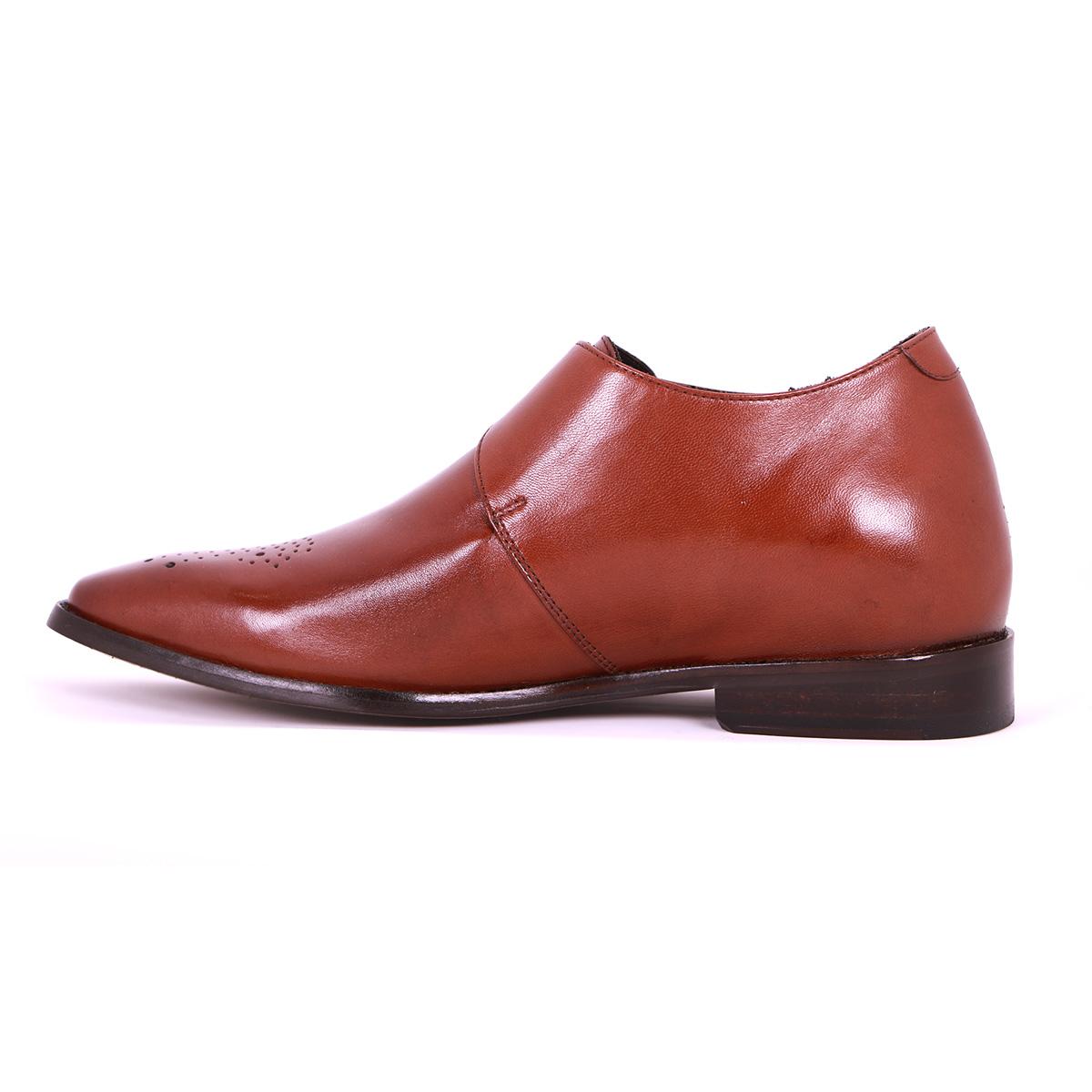 Zapato Formal Gentleman Café Oscuro Max Denegri +7cms de Altura_73378