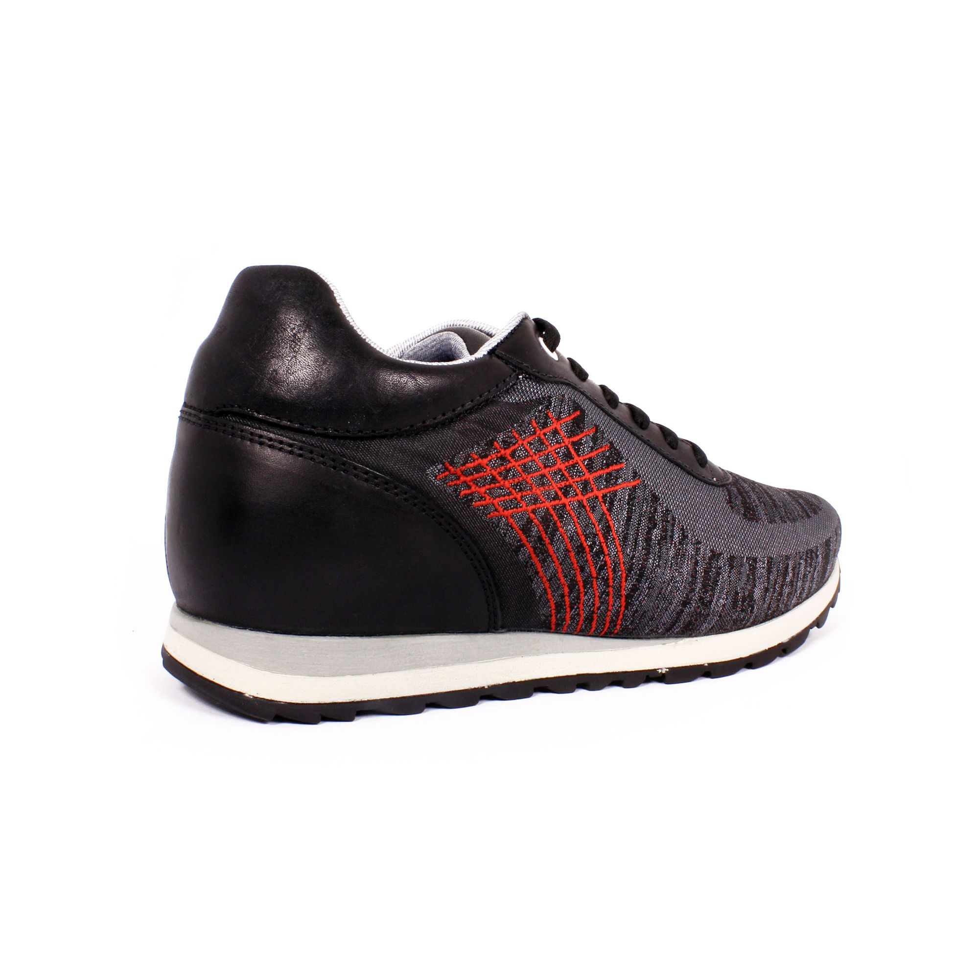 Tenis Extreme Negro Max Denegri +7cm de Altura_70857