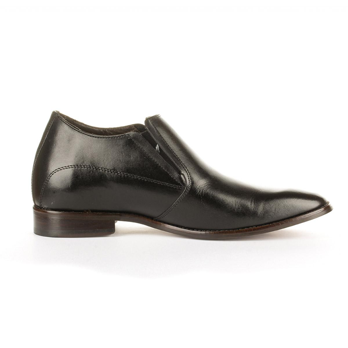 Zapato Formal Style Negro Max Denegri + 7cms de Altura _75830