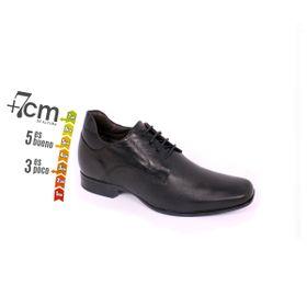 Zapato Formal Fashion Negro Max Denegri +7cm de Altura