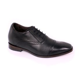 Zapato Formal British Negro Max Denegri +7cm de Altura