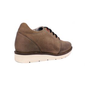 Zapato Casual Avenue Gris Max Denegri +7cms de Altura_70862