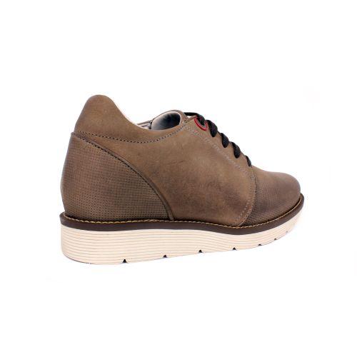 Zapato Casual Avenue Gris Max Denegri +7cm de Altura