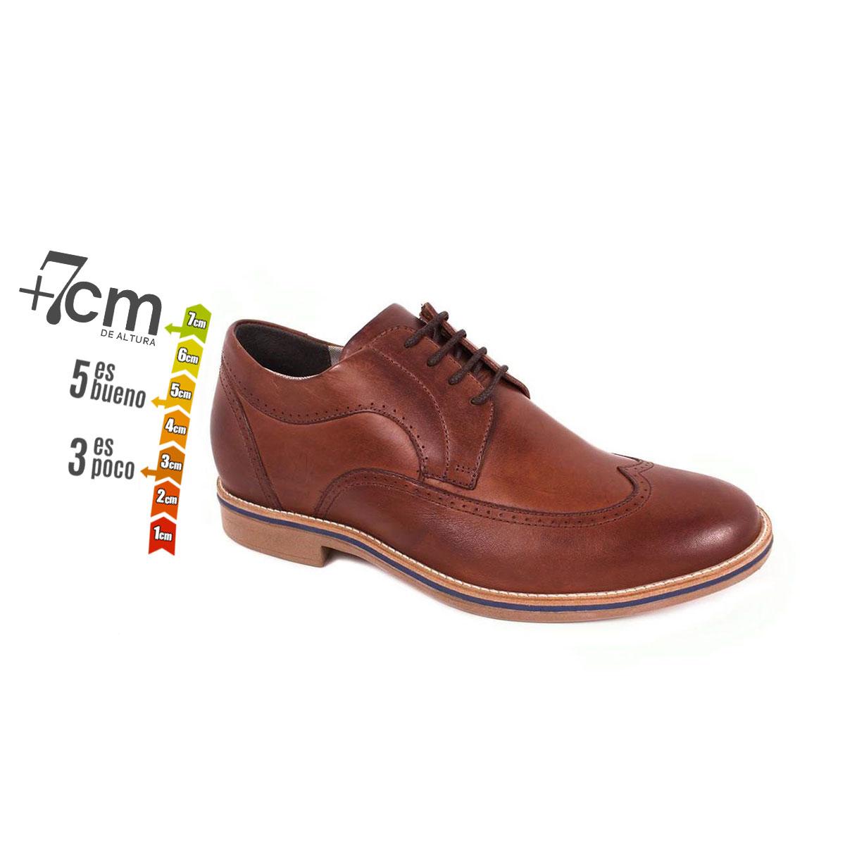 Zapato Casual Oxford Café Oscuro Max Denegri +7cm de Altura_74112