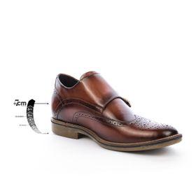 Zapato Casual Stamford Camel Max Denegri + 7 cms de Altura