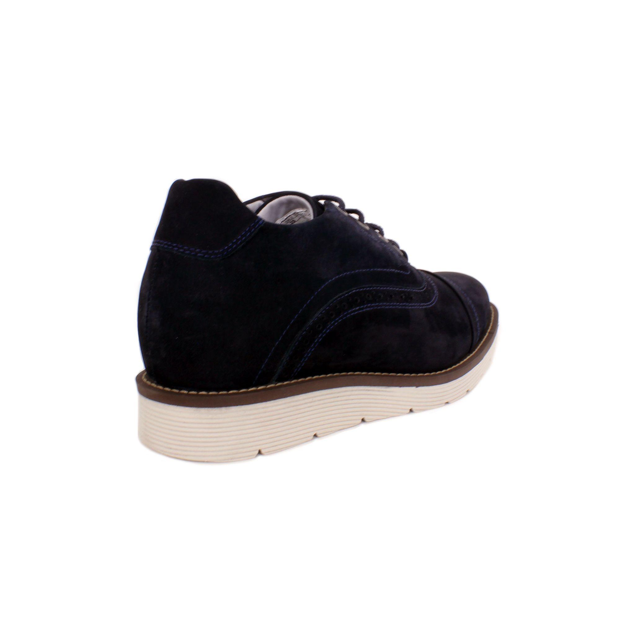 Zapato Casual Casino Azul Max Denegri +7cms de Altura_70946