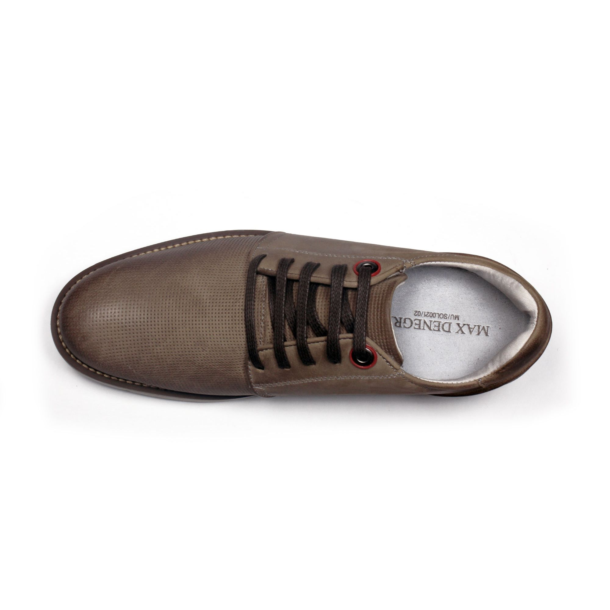 Zapato Casual Avenue Gris Max Denegri +7cms de Altura_70863