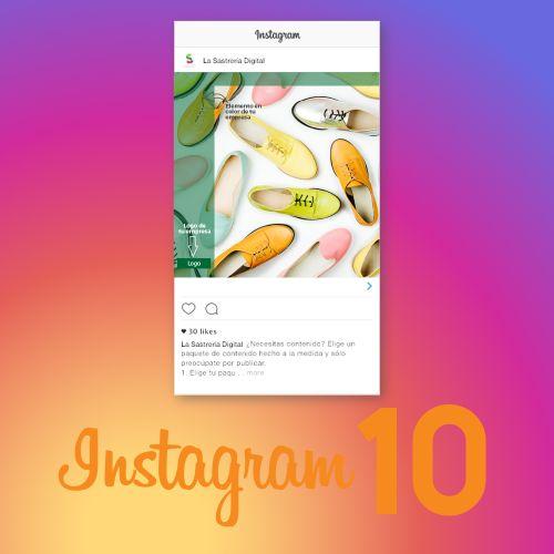 10 piezas de contenido para Instagram