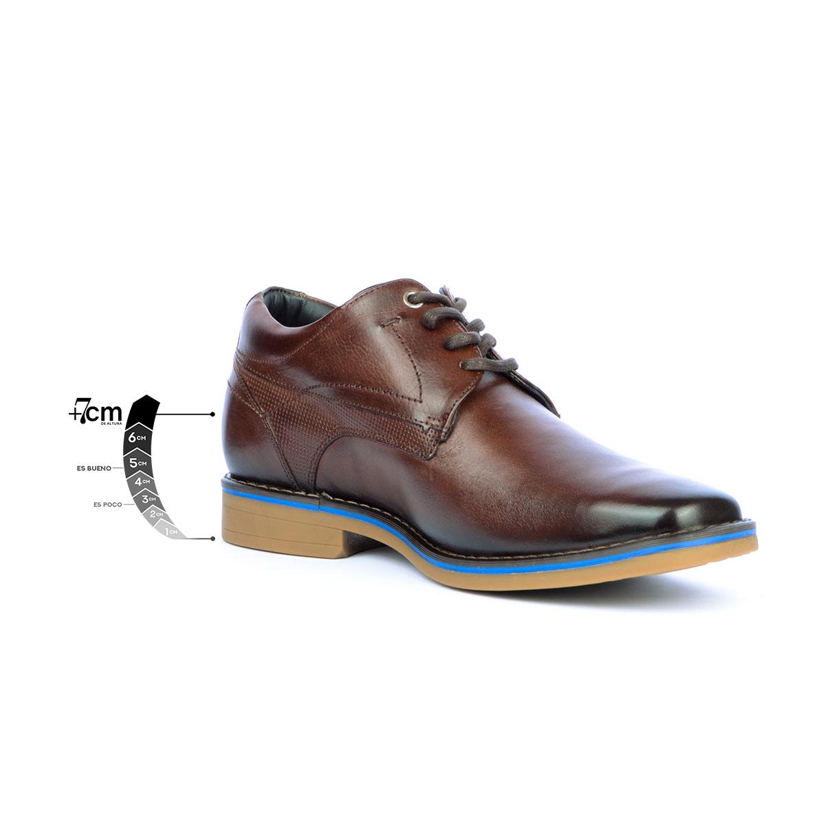 Zapato Casual Citizen café Max Denegri + 7cms de Altura _76386
