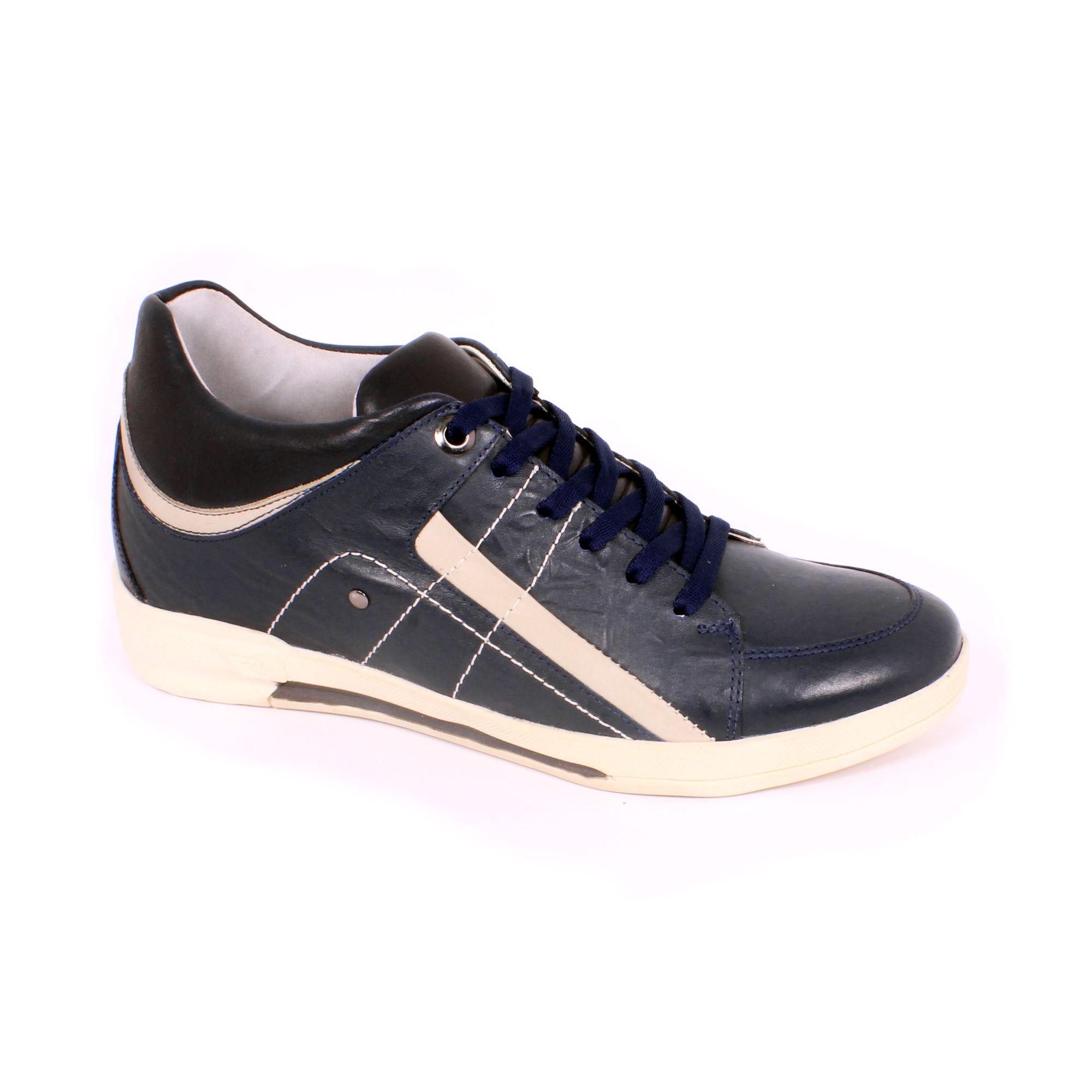Zapato Casual Street Azul Max Denegri +7cm de Altura_70931
