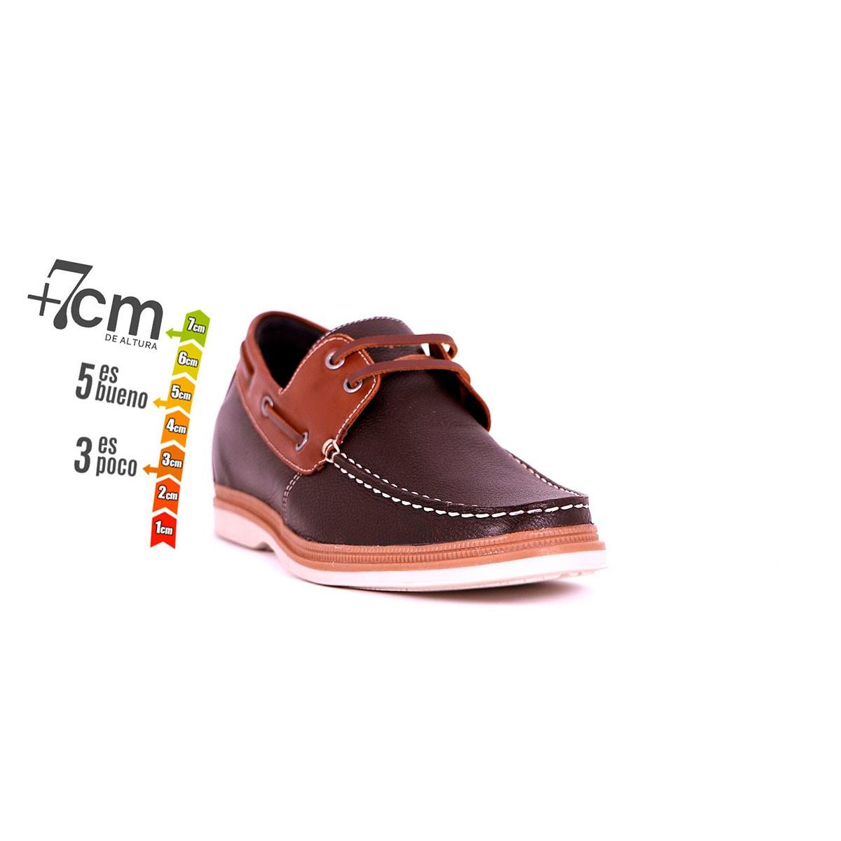 Zapato Casual Walk Café/Café Max Denegri +7cms de Altura_74252